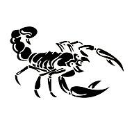 30cm søt 3d skorpion bil klistremerker bil styling vinyl decal klistremerke for bil acessories dekorasjon