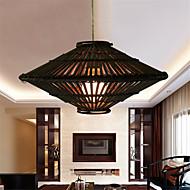 12W Vintage LED Others Rattan Pendant Lights Living Room / Bedroom / Dining Room / Study Room/Office / Hallway