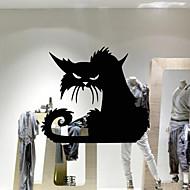 Tiere / Cartoon Design / Feiertage Wand-Sticker Flugzeug-Wand Sticker,vinyl 42*37cm