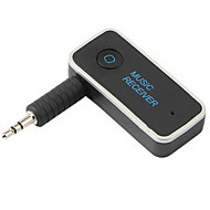 multipoint aansluiting 4.1 bluetooth audio muziekontvanger A2DP draadloze adapter met een 3,5 mm aux-poort en handsfree