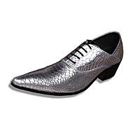 Oxfordky Stříbrná / Zlatá Pánské boty Kůže Svatba / Party