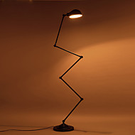 Northern Europe Contracted Style Long Arm Iron Floor Lamp Office Foyer Bedroon Decoration Floor Light