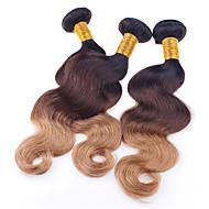 Ombre Brazilska kosa Wavy 3 komada kosa isprepliće