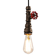 Industrial Loft Style Chandelier Creative Personality Retro Water Pipes Fixtures Chandelier Restaurant Bar