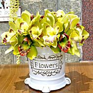Polyester Orchidej Umělé květiny