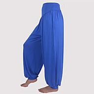 Yoga Pants Underdelar / Byxa Andningsfunktion / wicking / Lättviktsmaterial Dropped Icke-elastiskt Fotbollströjor Dam AnnatYoga / Pilates