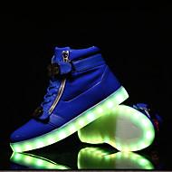 Αντρικό Φωτιζόμενα παπούτσια Ανατομικό Δέρμα Άνοιξη Καλοκαίρι Φθινόπωρο Χειμώνας Causal Φωτιζόμενα παπούτσια ΑνατομικόΤαινία Δεσίματος