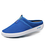 Men's Shoes Outdoor / Office & Career / Casual Tulle Loafers Black / Blue / Gray