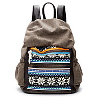 GPF Canvas Shoulder Bag Casual Female School Students Bag Backpack men and women