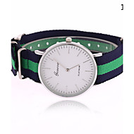 Unisex The New European Style Hot Fashion Canvas Striped Wrist Watches Cool Watches Unique Watches