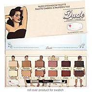 12 Eyeshadow Palette Dry Eyeshadow palette Powder Normal Daily Makeup / Smokey Makeup