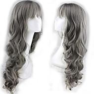 die neue Art und Weise Perücke Oma Asche ordentlich Knall lockiges Haar Perücke