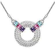Thousands of colors  Women's Alloy Necklace Daily Crystal-1-588