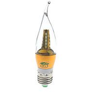 Zweihnder E27 7W 600LM 5000-5500K 25x2835 SMD LEDs WhiteLight Candle  Light(AC 85-265V)