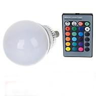 10W E14 LED Λάμπες Σφαίρα A70 1 LED Υψηλης Ισχύος 600-900 lm RGB Τηλεχειριζόμενο AC 85-265 V 1 τμχ