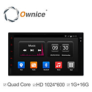 Ownice C300 7 Inch In-Dash 1024*600 Full Touch Panel Car Dvd Player for Universal 2 Din Quad Core Android 4.4 GPS