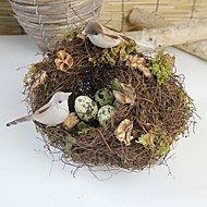 High Quality Simulation Nest  Micro landscape Decoration Props Bird Cage Photography Props
