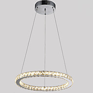 """Crystal Chandeliers Ceiling Pendant Light Lamps Fixtures for Hotel Cafe with D15.75"""" CE FCC ROHS"""
