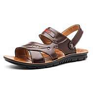 Men's Shoes Libo New Fashion Outdoor / Casual Comfort Beach Sandals Khaki / Brown / Orange
