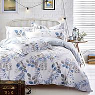 4PC Duvet Cover Set  Fresh Style Cotton Pattern Queen King Size