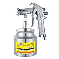 rewin® gereedschap pneumatische spuit verf lagere pot spuitpistool (f-75s)