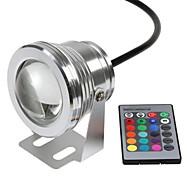 10W 水中ライト 800-1000 lm RGB ハイパワーLED リモコン操作 / 防水 DC 12 V 1枚