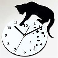 Modern/Zeitgenössisch Anderen Wanduhr,Kreisförmig Acryl 30*30*5 Uhr