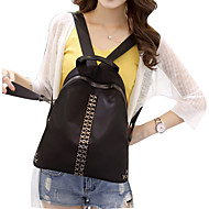 Women Other Leather Type Casual Backpack Gold / Silver