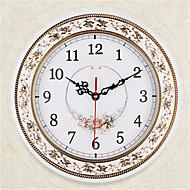 עגול מודרני / עכשווי שעון קיר,אחרים פלסטיק 28*28*4