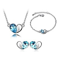 Thousands of colors Women's Alloy Jewelry Set Crystal-9-1-391-2-063-3-056