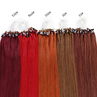 neitsi 16inch mikro rengas silmukat ihmisen hiusten pidennykset renkaat hiuksista 25g