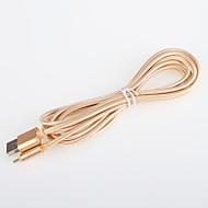 USB 2.0 Tressé Câble Pour 200 cm Aluminium