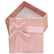 Hard square pearl jewelry gift garland necklace box