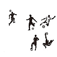 Módní / Lidé / Abstraktní / Sporty / 3D Samolepky na zeď Samolepky na stěnu,VINYL 100*110CM