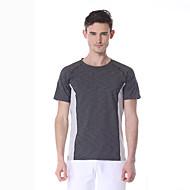 Yokaland®Ioga Blusas Respirável / Secagem Rápida / Drenagem Stretchy Wear Sports Ioga / Pilates / Fitness Homens