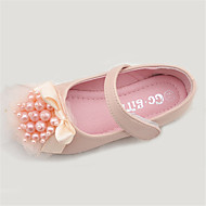 Girl's Flats Spring Fall Comfort Microfibre Outdoor Flat Heel Pink Ivory