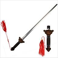ブロンズ中国カンフー太地太極拳剣リトラクタブルパフォーマンスの練習