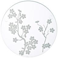 Exquisite Cherry Blossoms Glass Coasters Bridesmaids Tea Party Favors (1pcs)