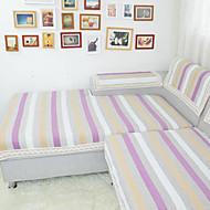 høyverdig stripe sofa håndkle slip-resistente stoff sofa pute sofa sett