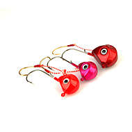 1pcs Metal Bait Jig Head 80g Sinking Fishing Lure Assorted Colors