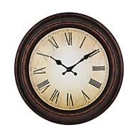 Kulatý Módní a moderní Nástěnné hodiny,Ostatní Umělá hmota 40*40*4.7