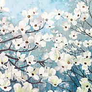 Mural Floral Papel pintado Campestre Revestimiento de pared,Lienzo Sí