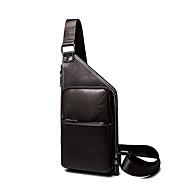 Men-Formal / Sports / Casual / Outdoor / Office & Career / Shopping-PU-Cross Body Bag-Brown / Black