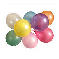 100pcs/lot Latex Helium Inflable Fortykkelse Pearl Bryllup eller Birthday Party Ballon