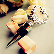 Key to My Heart Wine Bottle Opener and Stopper 2in1 Practical Wine Tools Wedding Favor