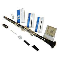speziell importiert aus buffy Klarinette abs Schlauch b16 buffy Klarinette beschäftigt, ein Musikinstrument spielen