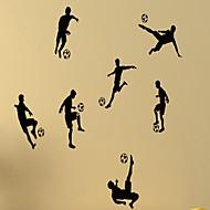 Zátiší / Tvary / Lidé / Volný čas / Sporty / 3D Samolepky na zeď Samolepky na stěnu,vinyl 79*58cm