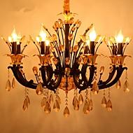 5 moderní - současný design Křišťál / svíčka Style Ostatní Kov Lustry Obývací pokoj / Ložnice / Jídelna
