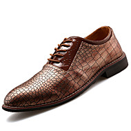 Men's Shoes Office & Career / Party & Evening / Casual Oxfords Black / Brown / Gray