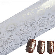 1 Neglekunst klistremerke Hel Negle Tipper Negle Smykker Andre Dekorationer Tegneserie Abstrakt Smuk Bryllup Sminke KosmetikkNeglekunst